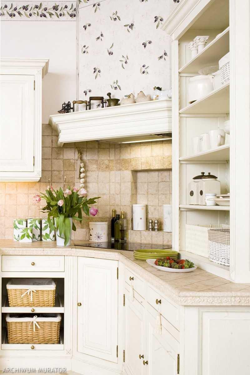 Galeria zdjęć  Kuchnia prowansalska Aranżacja kuchni, w której królują biał   -> Kuchnia Prowansalska Charakterystyka
