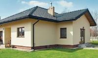 Zbudowali dom tanio i w 3 miesiące! Historia budowy według projektu Murator C74c Bliski - wariant III