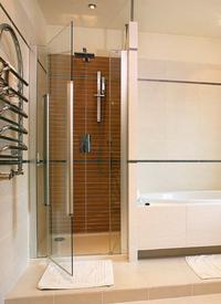 Drzwi kabiny prysznicowej