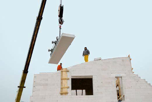Dach z wielkiej płyty