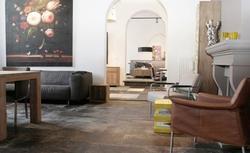 Pomysł na ścianę i podłogę: okładziny ścienne i podłogowe ze... SKÓRY