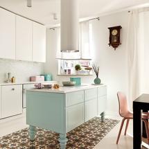 Pomysł na wykończenie podłogi w kuchni