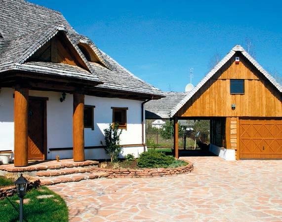 Główne wejście do domu