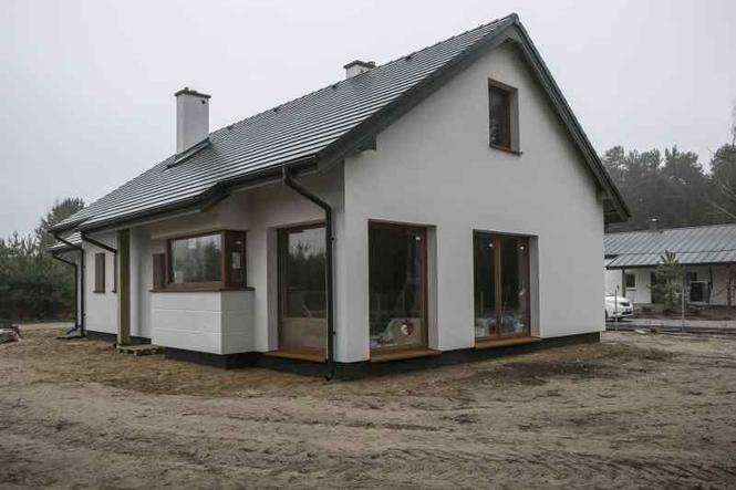 Dom modelowy po zakończeniu budowy