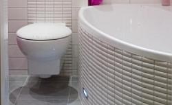 Wykończenie łazienki. Kłopotliwe miejsca narażone na wodę: prysznic, wanna, umywalka