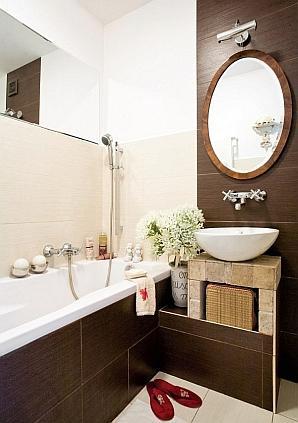 Łazienka romantyczna i naturalna