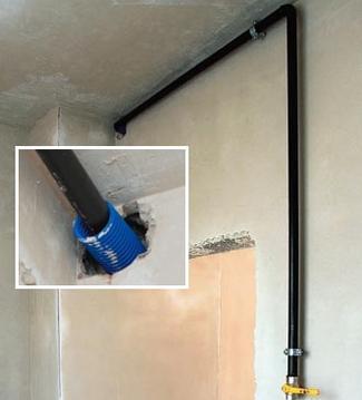Bezpieczna instalacja gazowa w budynku